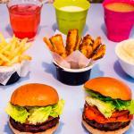 Byron burger restaurant at Bluewater, Kent