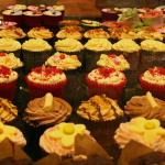 Fresh cakes and pastries from John Lewis Foodhall at Bluewater, Kent