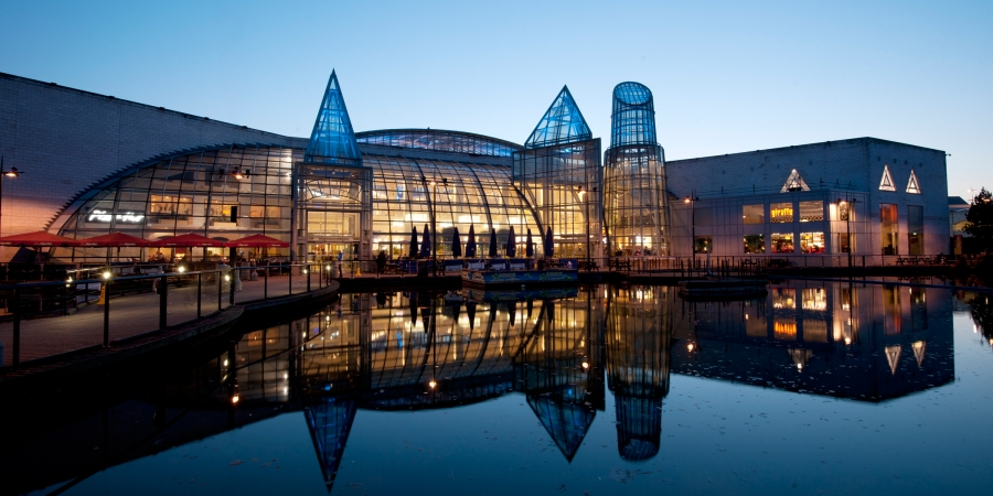 Bluewater retail and leisure destination in Kent