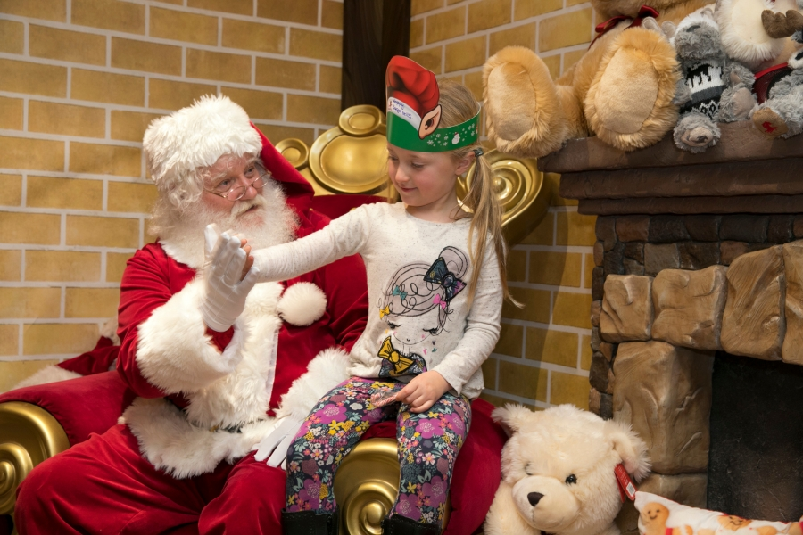 Santa's grotto at Bluewater, Kent