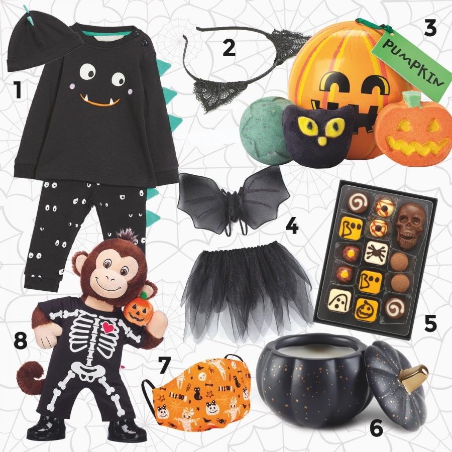 BW Halloween Montage