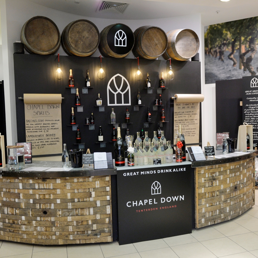 Chapel Down, Bluewater, KEnt