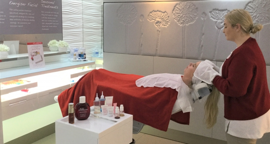 Clarins Spa at John Lewis, Bluewater, Kent