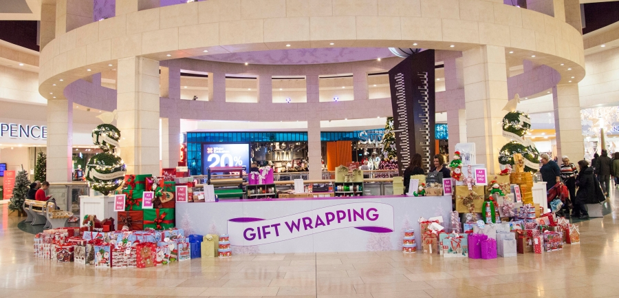 Gift Wrap Station, Bluewater, Kent