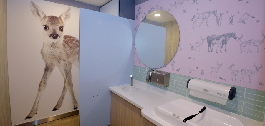 Baby Change and Family Facilities, Bluewater, Kent