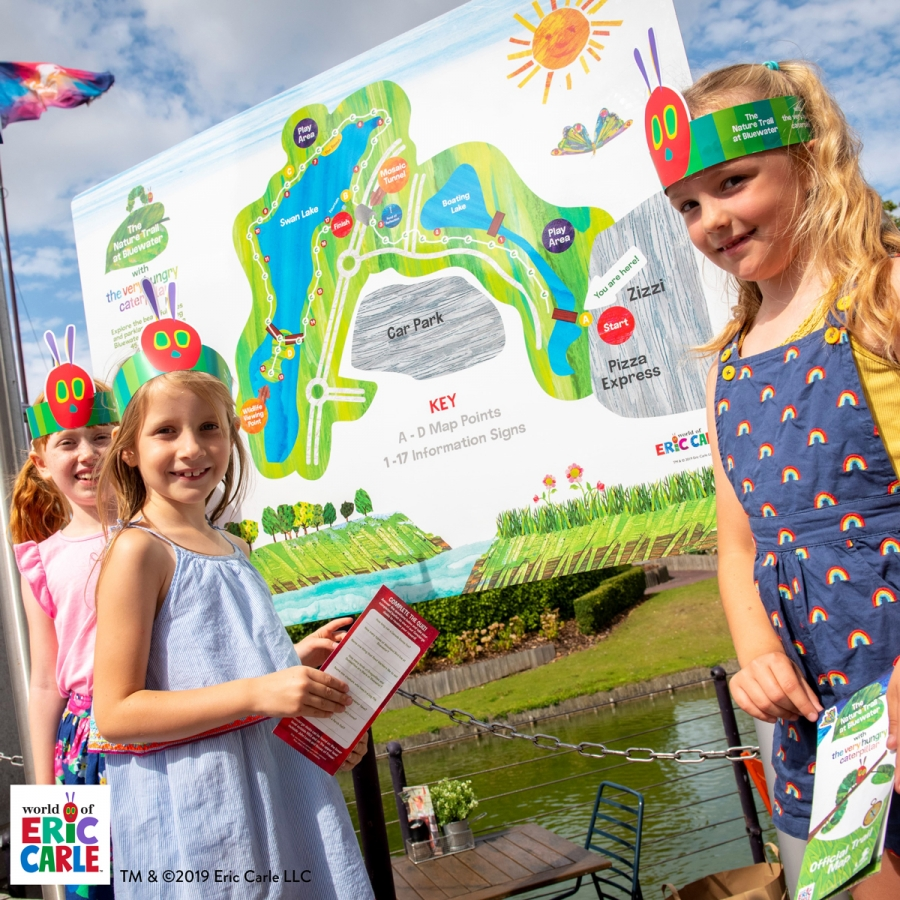 Bluewater's Nature Trail welcomes The Very Hungry Caterpillar Bluewater Kent