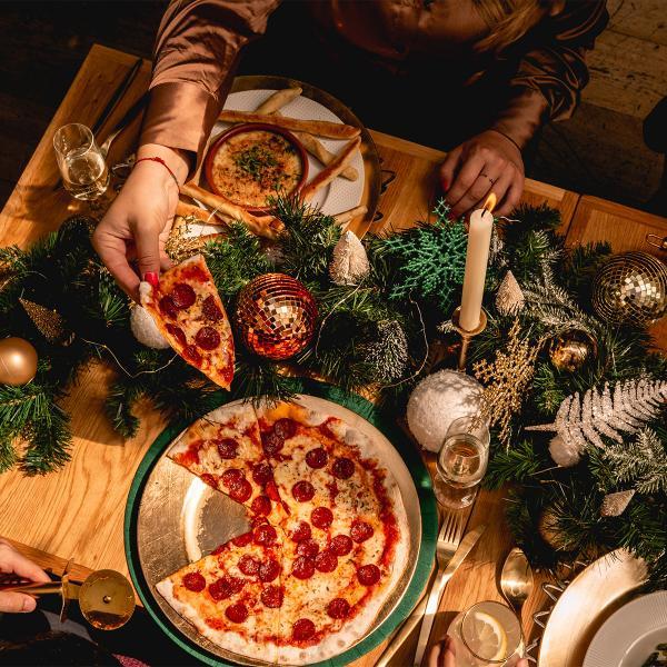 Ask Italian Christmas Menu, Bluewater, Kent