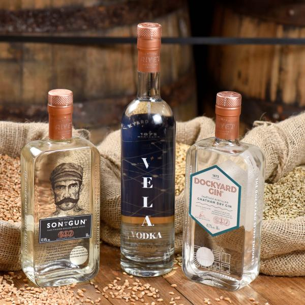 Copper Rivet Distillery event at John Lewis & Partners Foodhall, Kent, Bluewater
