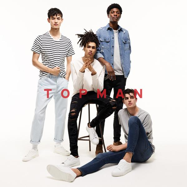 TOPSHOP TOPMAN - FIT IN. STAND OUT, Bluewater, Kent