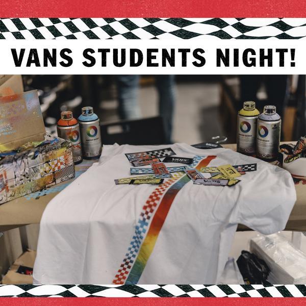 Vans Student Night, Bluewater, Kent