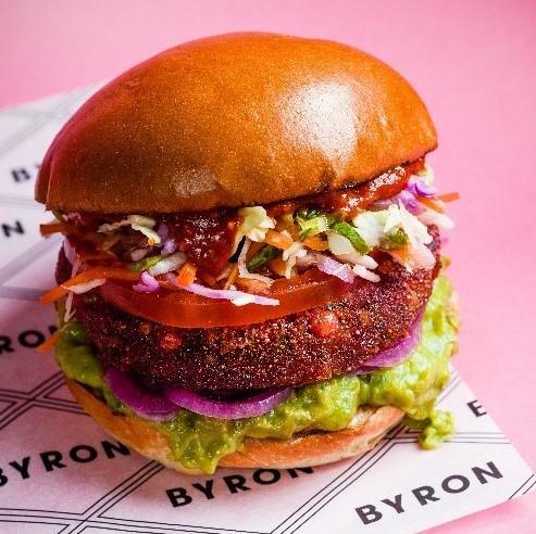 Vegan at Byron, Bluewater, Kent