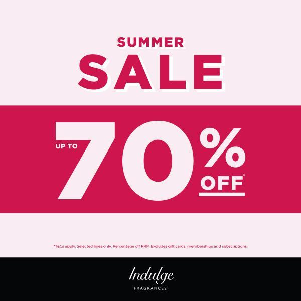 Get designer scents for less in The Fragrance Shop summer sale